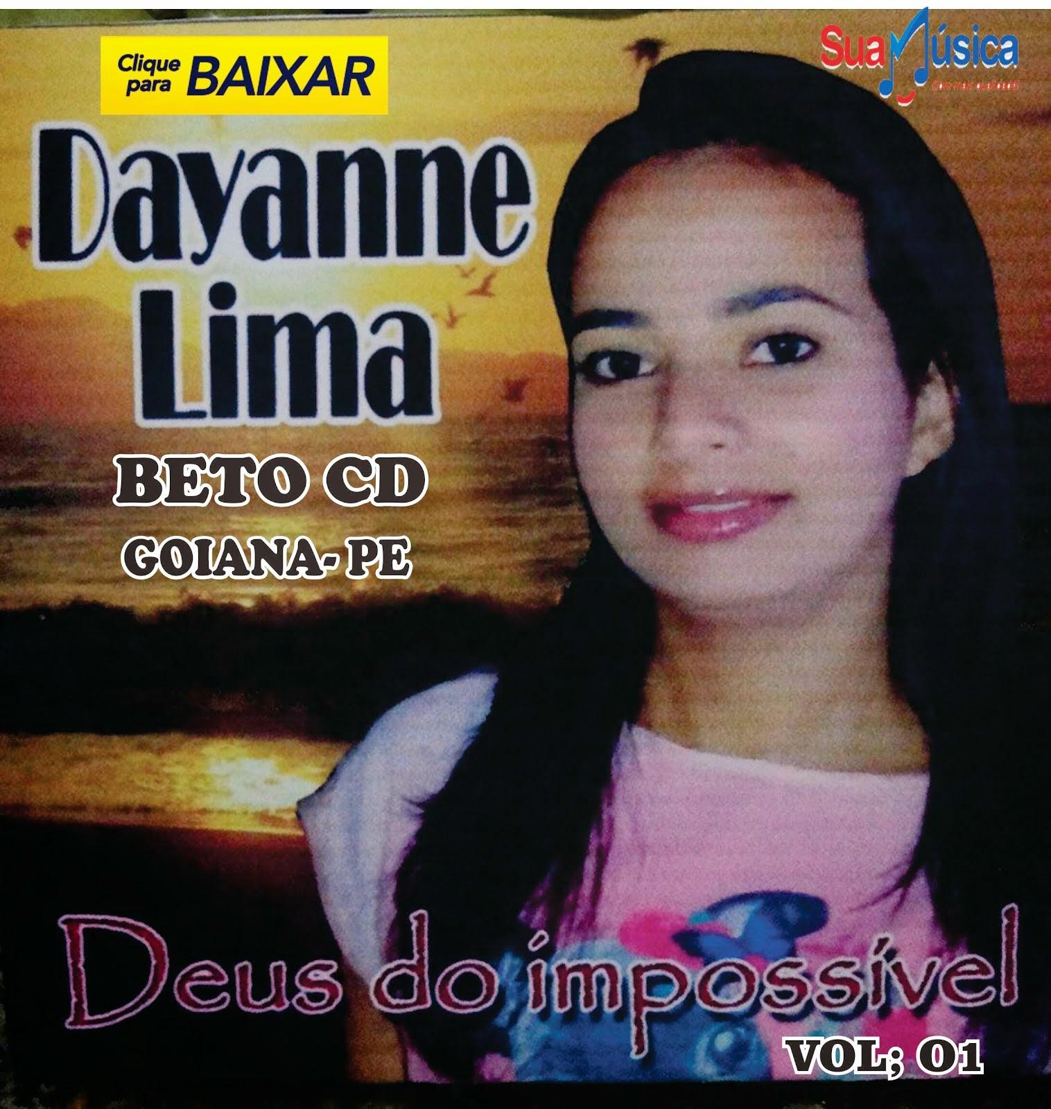 LANÇAMENTO NOVO CD DA CANTORA DAYANNE LIMA