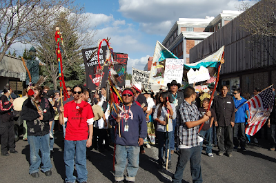Navajo Nation march