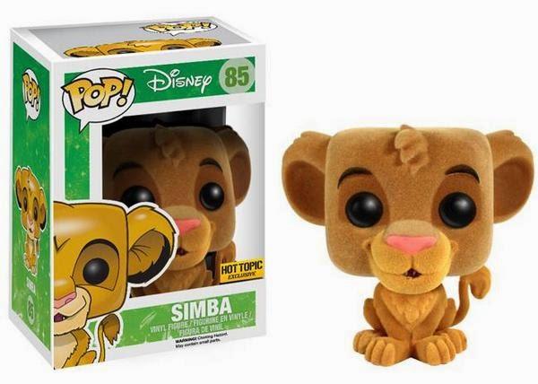 Funko Pop! Simba Flocked