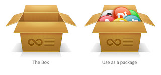 Create a cardboard box icon in Photoshop