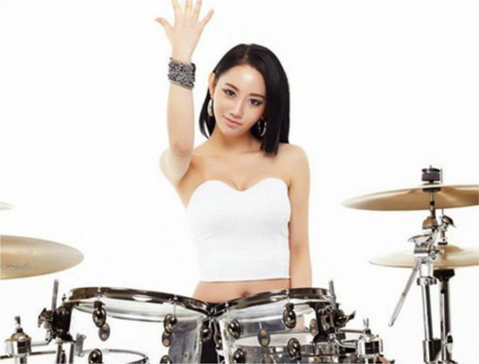 Drummer Girl Korean - Amazing Drummer Girl Fantastic Baby - IBOtube