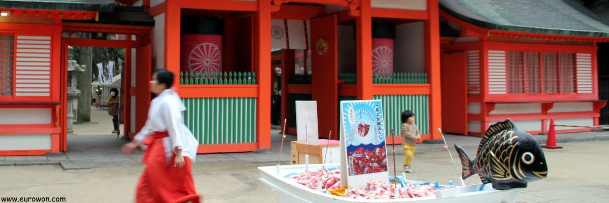 Santuario Sumiyoshi de Fukuoka
