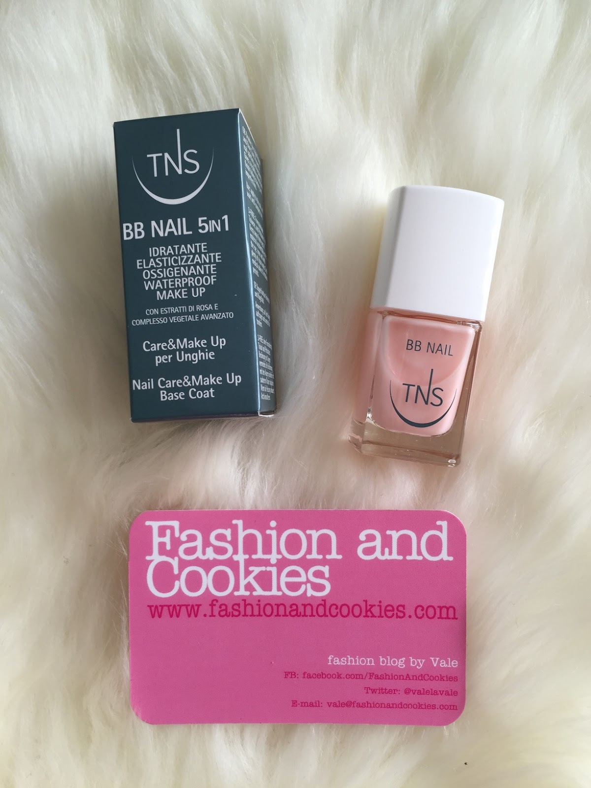 TNS cosmetics bb nail on Fashion and Cookies beauty blog, beauty blogger