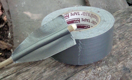 duct tape is the ultimate survival item