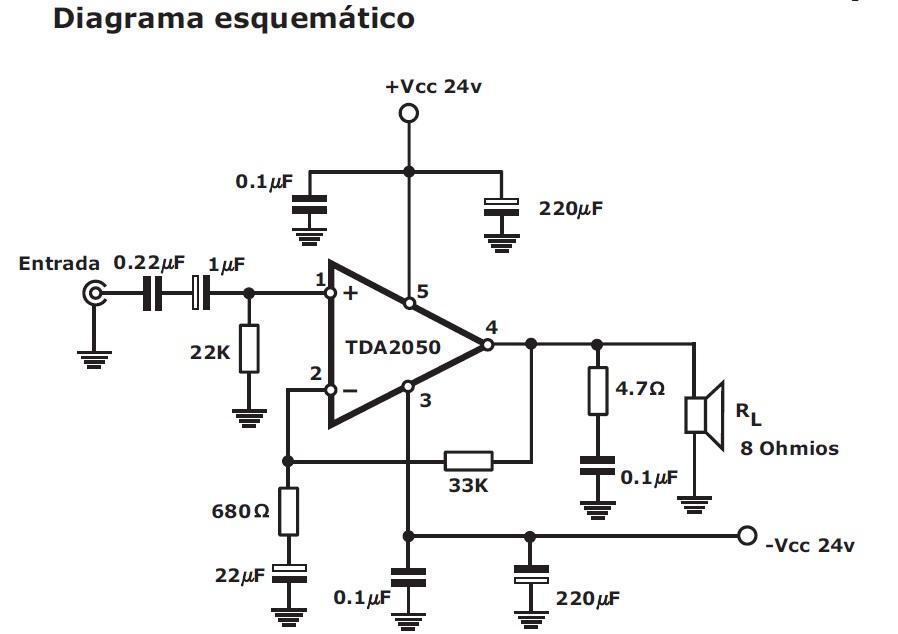 electronica casero  amplificador de 50w