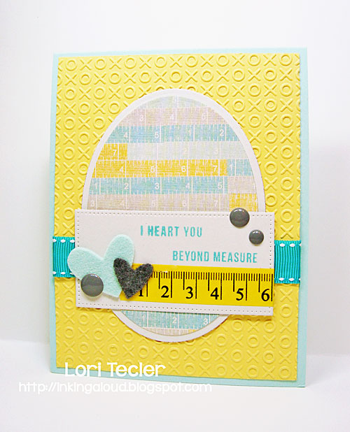 I Heart You Beyond Measure card-designed by Lori Tecler/Inking Aloud-stamps from Mama Elephant
