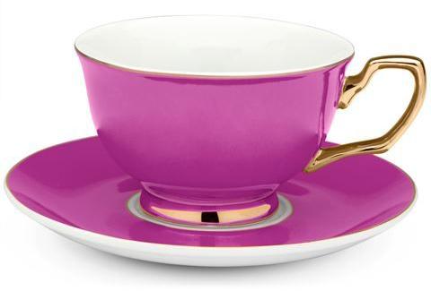 Colorful Signature Tea Cups from Cristina Re