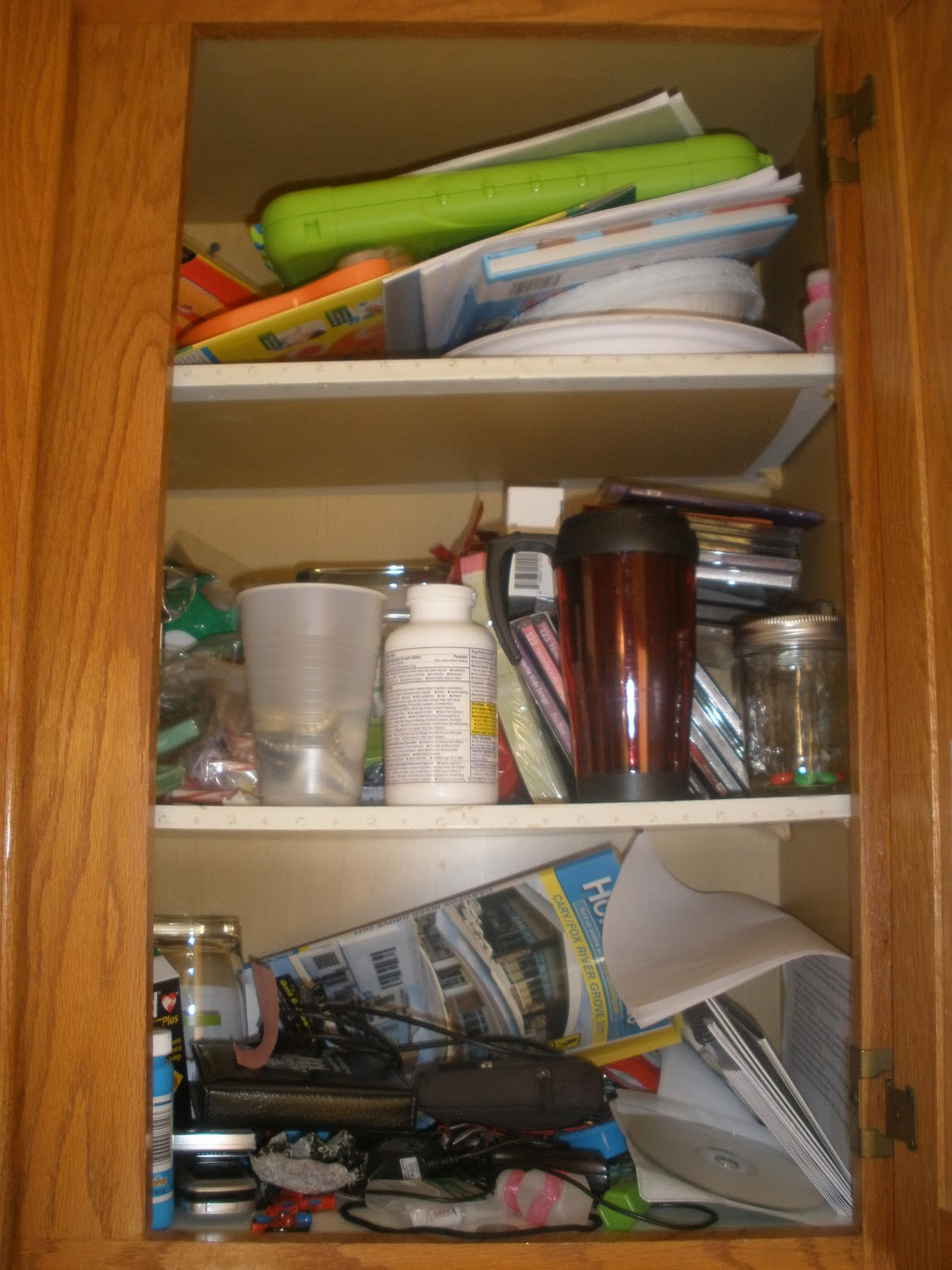 Crafting my happy life getting organized in the new year for Kitchen junk drawer