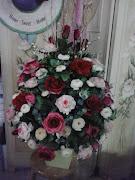Gubahan Bunga utk Raya Tahun ini
