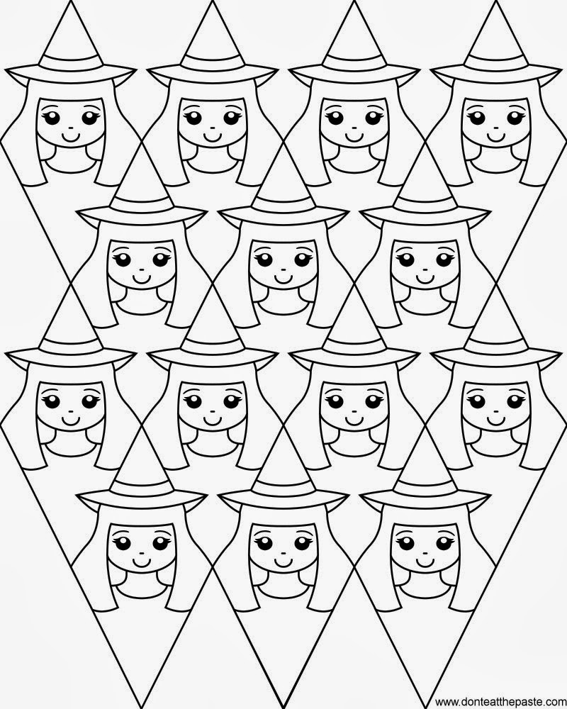 don u0027t eat the paste witches coloring page