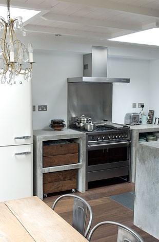 Iluminar la cocina ministry of deco - Cocina cemento pulido ...