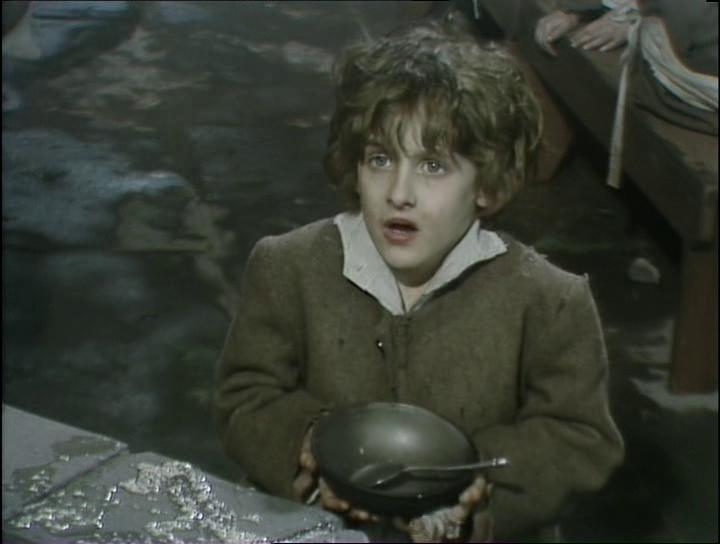 el periodico mas breve que los trabajadores no tomen sopa de tortuga fotogramas de la serie oliver twist 1985 de la cadena de television bbc