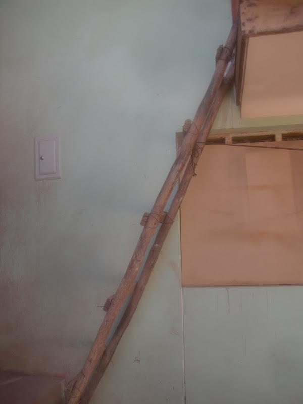 Decoraciones manualidades en madera como hacer una for Como construir una escalera de hierro y madera