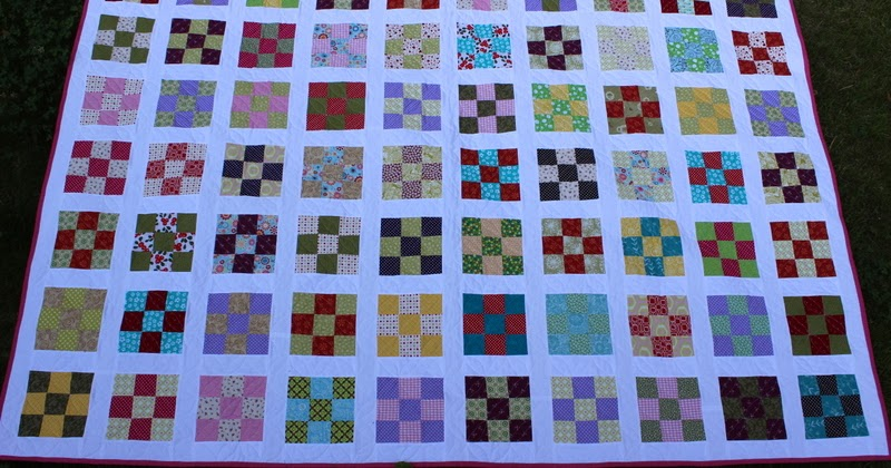 Ysipeitto - Nine Patch quilt