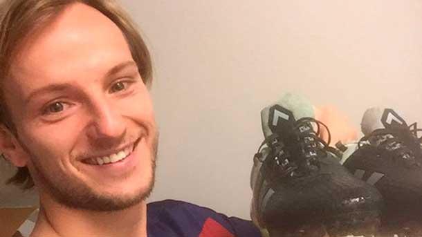 ¿Cómo celebrará Ivan Rakitic su próximo gol?
