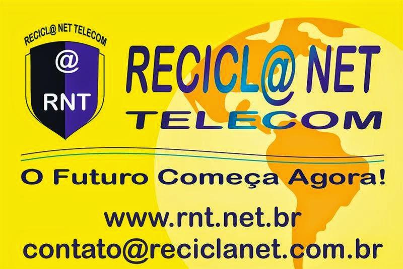 RECICLA NET TELECOM - INTERNET COM QUALIDADE