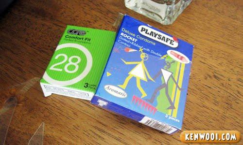 condom boxes