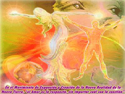 En este momento la experiencia humana se está moviendo para expandir la vida en todo la Creación.