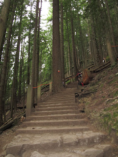 Grouse Grind in Vancouver, British Columbia Canada