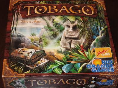 The box artwork for Tobago