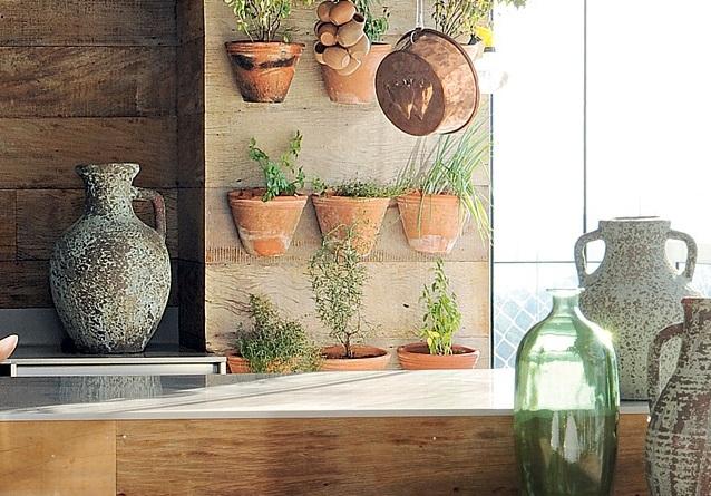 horta em jardim vertical : horta em jardim vertical:blog de decoração – Arquitrecos: 7 idéias de hortas dentro de casa