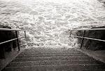 escalier de plage