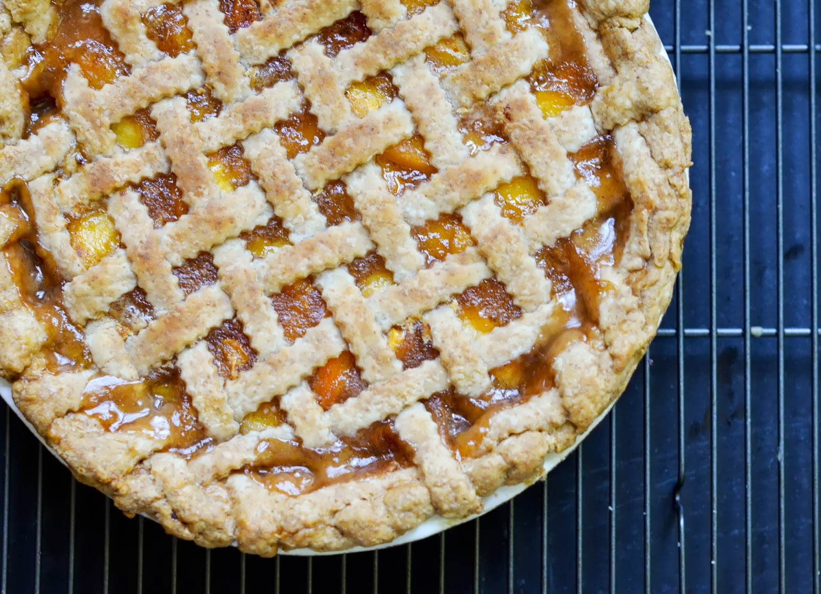 ... Duck and a Big Gooey Cake: A Taste of Summer: Perfect Peach-Ginger Pie
