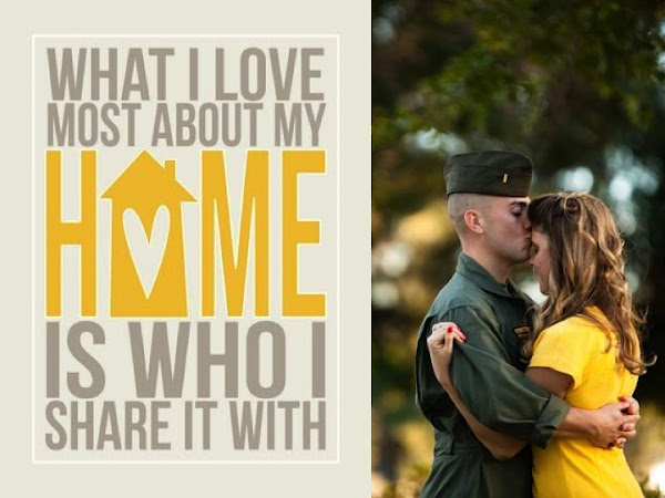 Home is wherever the Marine Corps sends us !