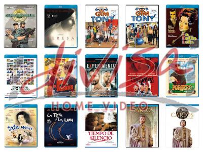 Lanzamientos de diciembre en DVD y Blu-ray de Divisa Home Video