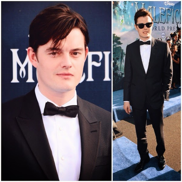 Sam Riley in Ermenegildo Zegna Couture - World Premiere Of Disney's 'Maleficent'