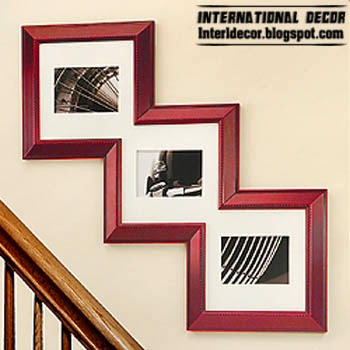 Interior design 2014 decorating walls with picture frames for Cool picture frame designs