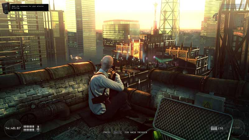 Screen Shot Of Hitman Sniper Challenge (2012) Full PC Game Free Download At Downloadingzoo.Com