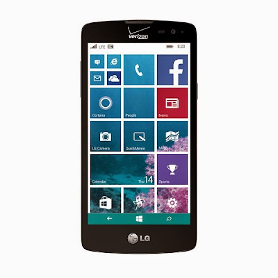 LG Lancet with Windows Phone 8.1 and Advanced Calling 1.0 announced for Verizon