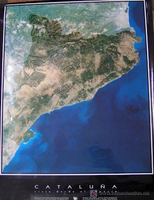imagen satélite cataluña
