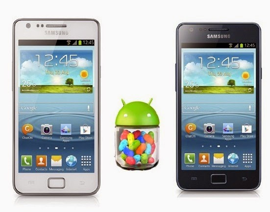 Galaxy S2 I9100 Jelly Bean