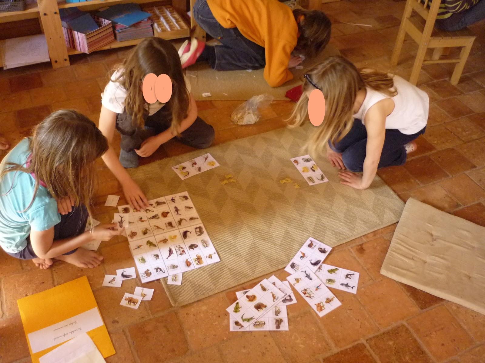 montessori avec les 6 12 ans apprentissage de l 39 anglais i l 39 exp rience dans la classe 6 12. Black Bedroom Furniture Sets. Home Design Ideas