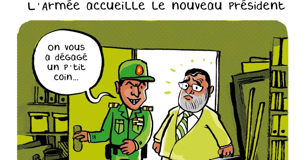 carnet de bord        le blog de julien revenu  mohamed morsi