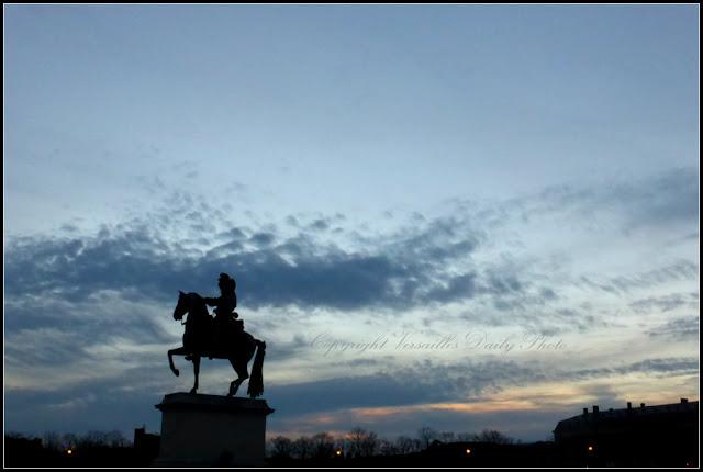 Louis XIV statue Versailles