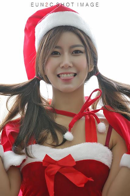 3 Ban Ji Hee - merry christmas - very cute asian girl-girlcute4u.blogspot.com