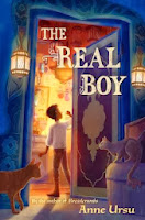 the real boy by anne ursu book cover