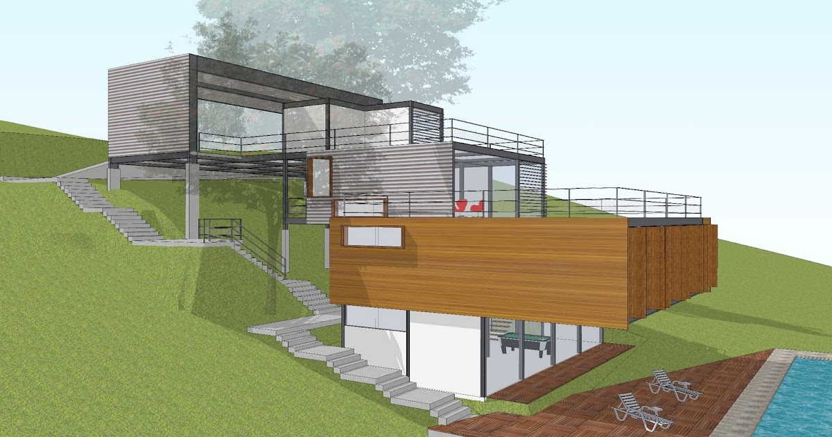 R2n arquitetura e urbanismo resid ncia dr atibaia sp 2011 2012 - Pente terrasse exterieure ...