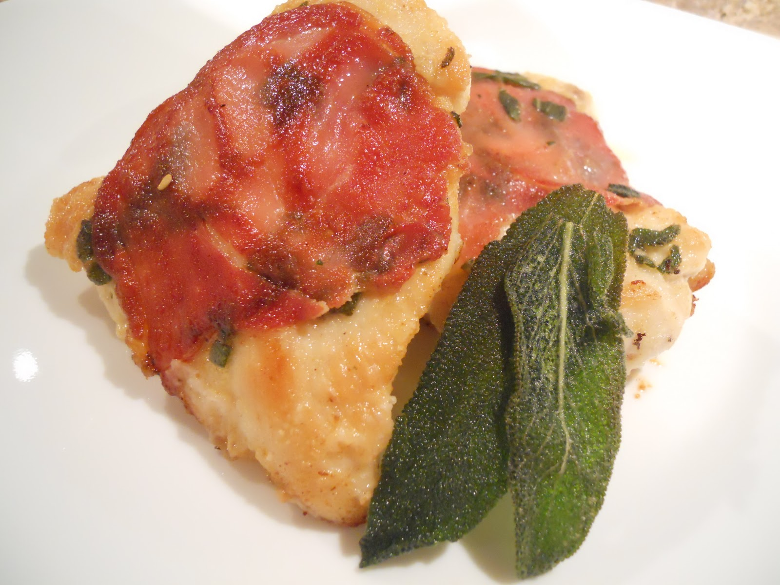 See Aimee Cook: Chicken Saltimbocca