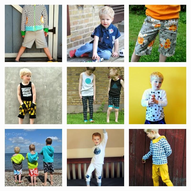 Mega List Of Boy Pdf Sewing Patterns Beatnik Kids