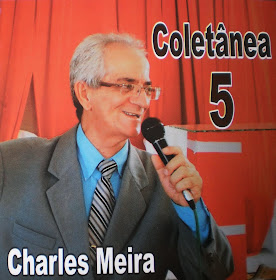"Capa do CD ""Coletânea 5"" do cantor Charles Meira"