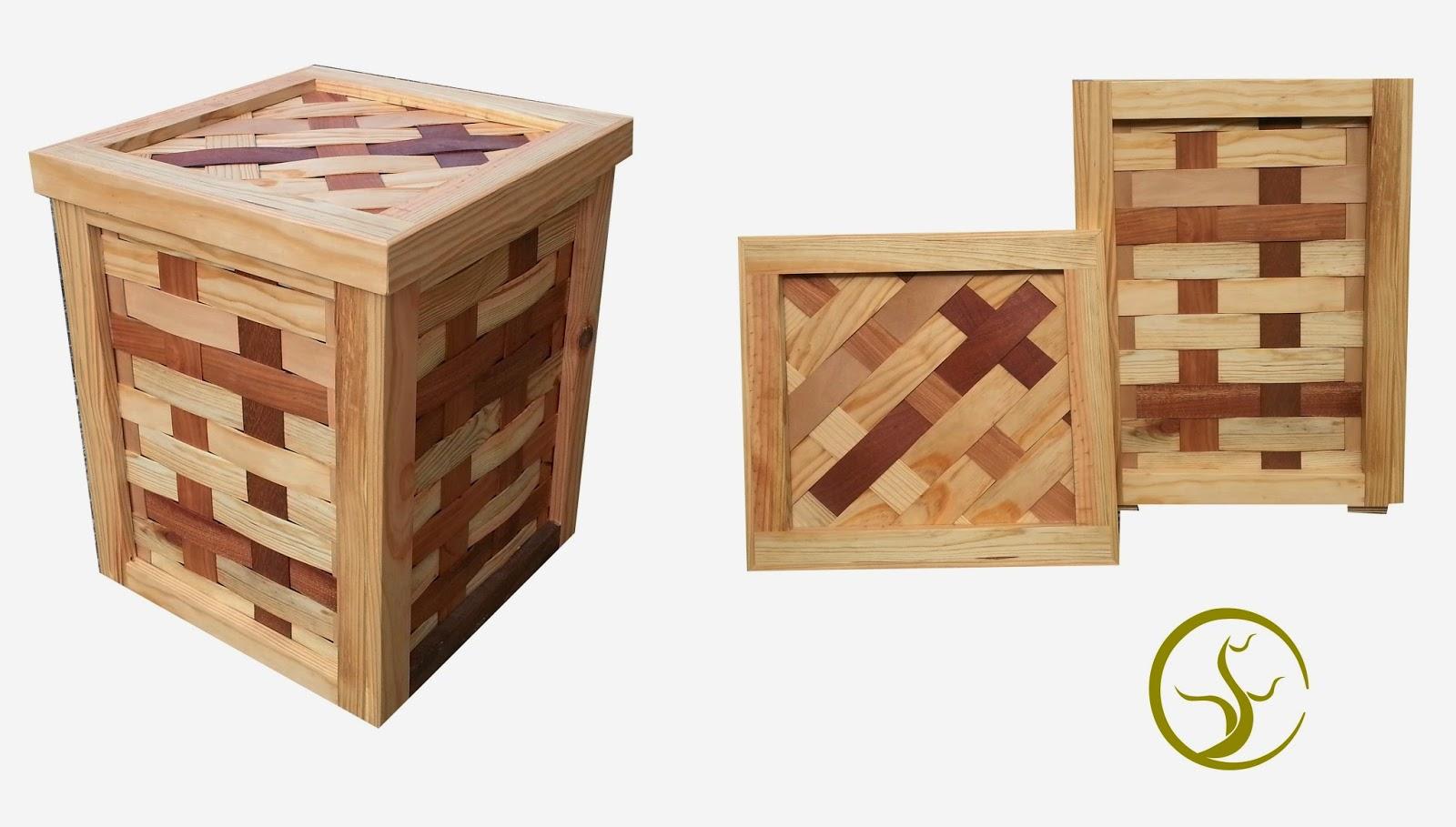 Sfc muebles sostenibles y creativos ecodise o - Cestos de madera ...