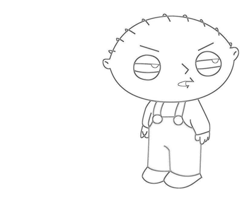 Stewie Griffin Ability Avondale Style Stewie Coloring Pages
