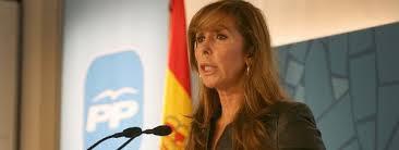 Alicia Sanchez Camacho dirigente del PP catalán