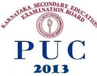Karnataka 2nd PUC 2013 Results