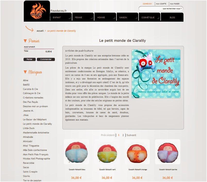 http://fousducoq.fr/36_le-petit-monde-de-claralily