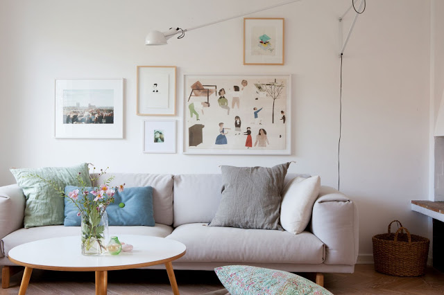 Muuto Rest Sofa : My scandinavian home: a beautiful malmö home